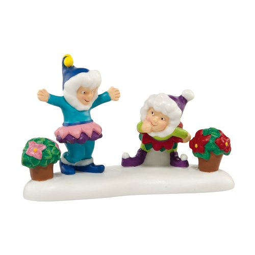 Department 56 North Pole Village A Bloomin' Merry Christmas Accessory Figurine, 1.75 inch