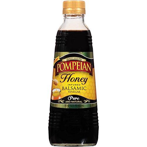 - Pompeian Honey Infused Balsamic Vinegar, 16 Ounce