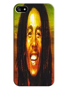 attractive designed iphone 5/5s Cool Bob Marley Unique Durable TPU phone Case/Cover/Shield 2014 fashionable