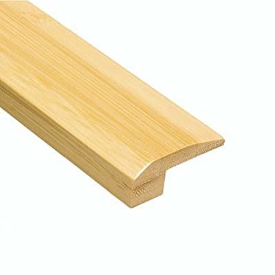 Home Legend Horizontal Natural 1/2 in. Thick x 2-1/8 in. Wide x 47 in. Length Bamboo Carpet Reducer Molding