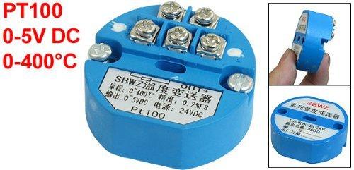 eDealMax PT100 Transmisor de temperatura del Sensor 0-400C Salida 0-5V DC by eDealMax (Image #1)