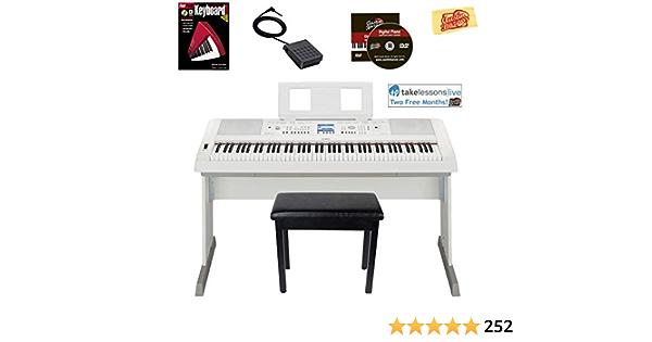 Yamaha dgx-660 paquetes: Amazon.es: Instrumentos musicales