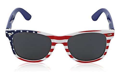 Polaroid Sunglasses Lenses Vintage Stars and Stripes 4th Of July Party Clothes b