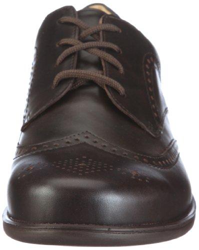 Ganter Greg, Weite G 1-257211-0100 - Zapatos clásicos de cuero para hombre Marrón