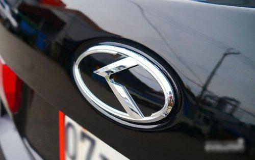 Rear Trunk Steering Wheel K Logo Emblem 3-pc Set For 2013 2014 Kia New Sorento ZEO Front Hood Grill