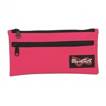 Blackfit8-Estuche portatodo 2 Cremalleras Color Rosa (SAFTA ...