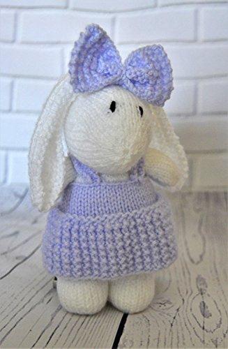 Knitting Pattern Muffin The Rabbit Bunny Soft Toy Amazon