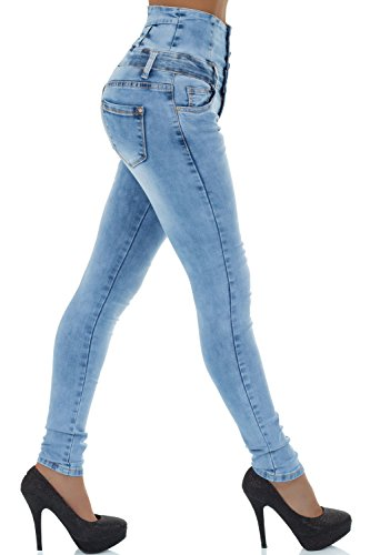 Jeans malucas Jeans Femme Bleu Skinny malucas Skinny malucas Femme Bleu gCPCSExwq
