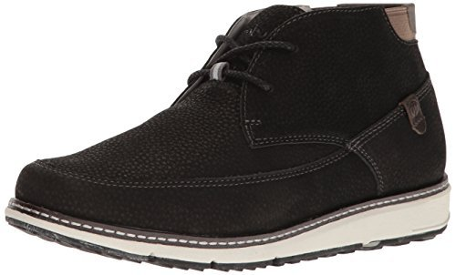 Jambu Men's Tavern Ankle Bootie, Black/Grey, 10 M US -