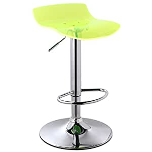 WENBO HOME- Bar stool / lift bar stool / European high back stool / home simple bar chair -chair ( Color : Zitrone )