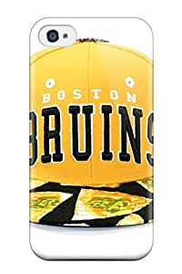 DanRobertse Scratch-free Phone Case For Iphone 4/4s- Retail Packaging - Boston Bruins (9)