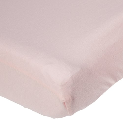 TL Care Supreme 100% Cotton Jersey Knit Fitted Cradle Sheet, Pink