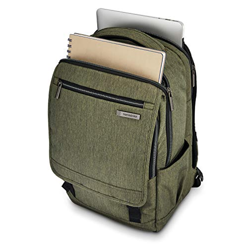 412BeP9D9GL - Samsonite Modern Utility Paracycle Backpack Laptop, Olive, One Size