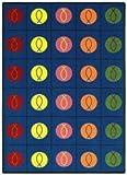 Faith Based Circles and Symbols Kids Rug Rug Size: 10'9'' x 13'2''