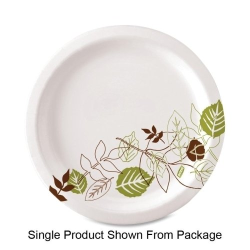 Wholesale CASE of 10 - Dixie Foods Pathways Design Everyday Paper Plates-Plates, Heavy Weight, 8-1/2, 125/PK, Pathways/White ()