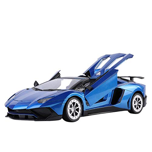 1:14 Scale [Blue] Italian Exotic Supercar Roadster Convertible Remote Control Model Car