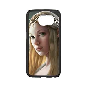 Samsung Galaxy S6 Cell Phone Case Covers White Fantasy Girl Elf Gnycp