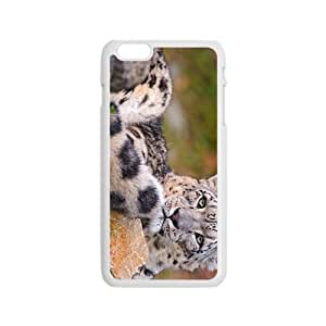 Snow Leopard Hight Quality Plastic Case for Iphone 6