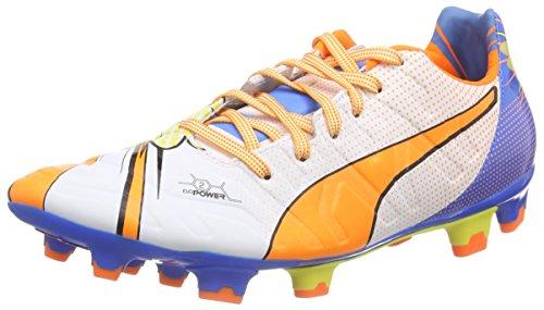 Pop Football 2 Evopower Blanc Blue De Puma blanc 2 Fg orange electric Clown Fish 01 Homme Wei Lemonade Pour Chaussures CSqntt8Fx