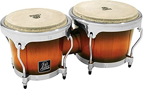 Latin Percussion LPA601-SBC Aspire Sunburst Wood Bongos (Lp Aspire Bongo Head)