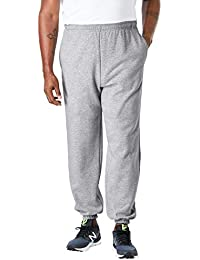 Men's Big & Tall Fleece Elastic Cuff Sweatpants