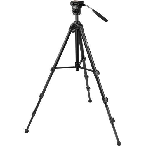 (Magnus VT-350 Video Tripod with Fluid Head)