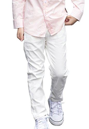NABER Kids Boys Husky Flat-Front Adjustable Waist Dressy Suit Pants Age 4-13 Y
