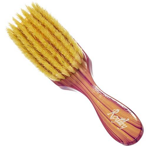 (Royalty By Brush King Wave Brush #703- Medium Soft Brush - From The Maker Of Torino Pro 360 Wave Brushes)