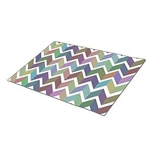 QuiQ Monogrammed Door Mat Striped Best Doormat Blank One size