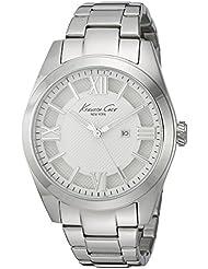 Kenneth Cole New York Womens 10023856 Dress Sport Analog Display Japanese Quartz Silver Watch