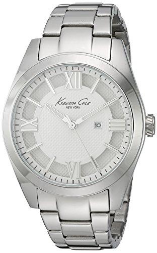 Kenneth Cole New York Women's 10023856 Dress Sport Analog Display Japanese Quartz Silver Watch