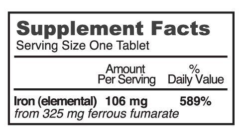 Pharmics Supplement, Potency 106 mg - 60