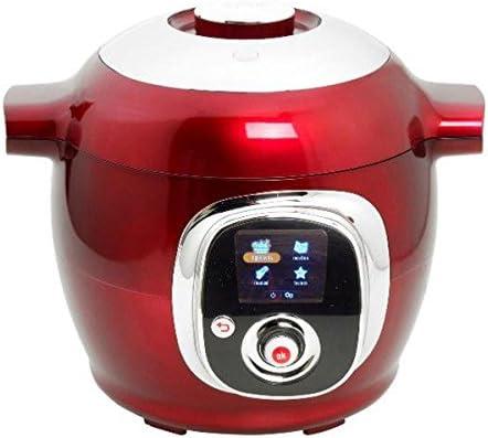 Moulinex CE7015 - Robot de cocina inteligente Cookéo (1.200 W), color rojo: Amazon.es: Hogar