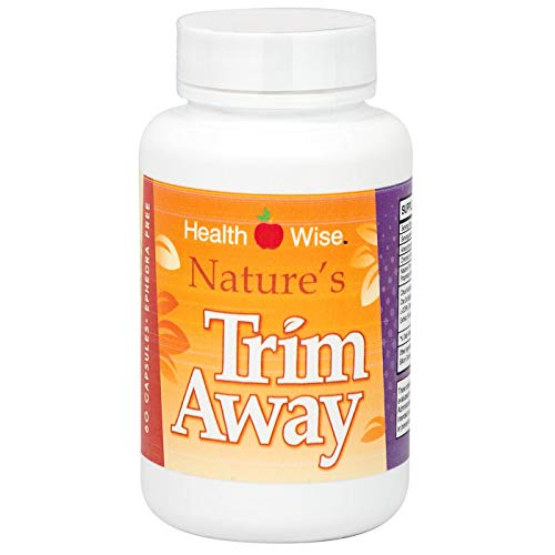 HealthSmart - Nature's Trim Away - Diet Supplement - Appetite Suppressant - Synergistic Formula - 60 Capsules
