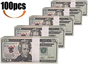 Sweepstakes: Prop Money Full Print 2 Sided $20 Dollar...