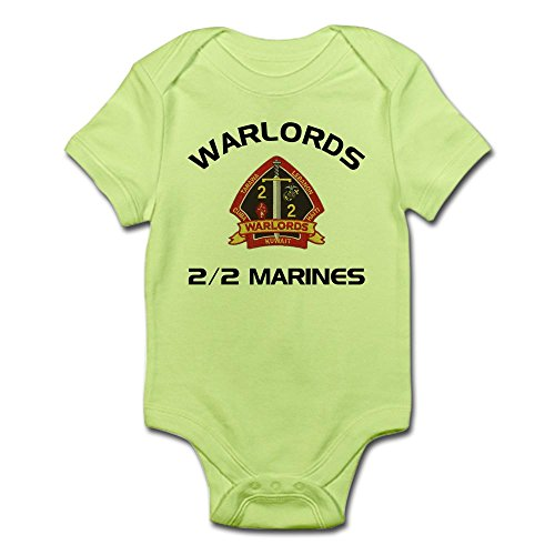 CafePress - 2/2 Marines Warlords Infant Creeper - Cute Infant Bodysuit Baby