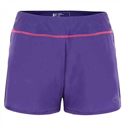 Dare2b Womens/Ladies Succession Lightweight Athletic Running Shorts Royal Purple