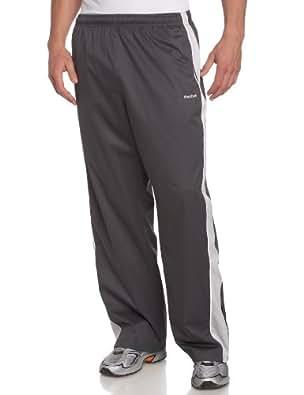 Reebok Men's Traveler Mesh Lined Pant,Soft Black,Small