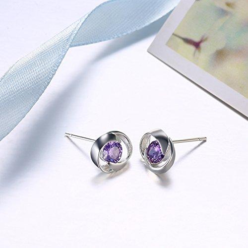 women jewellery Design gifts Birthday Style fashion 6 Stud Wedding for girls Earrings jewelry AW0vA