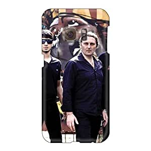 LauraAdamicska Samsung Galaxy S6 Scratch Protection Mobile Covers Allow Personal Design Colorful Helloween Band Pictures [Ygd11987HnDZ]