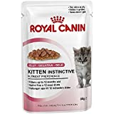 Royal Canin Kitten Instinctive in Jelly Pack, 12 Pack