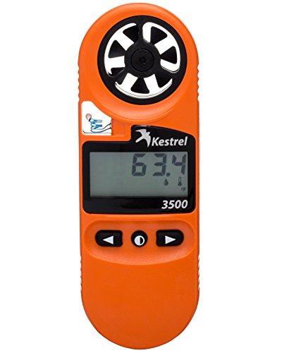 Kestrel 3500FW Fire Weather Meter Pro/Digital Psychrometer Altimeter Anemometer, Blaze Orange