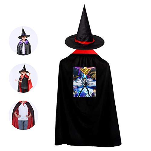 Childrens' Halloween Costume Yu-Gi-Oh! Cloak Style Kids Wizard Hat Cosplay For Boys&Girls -