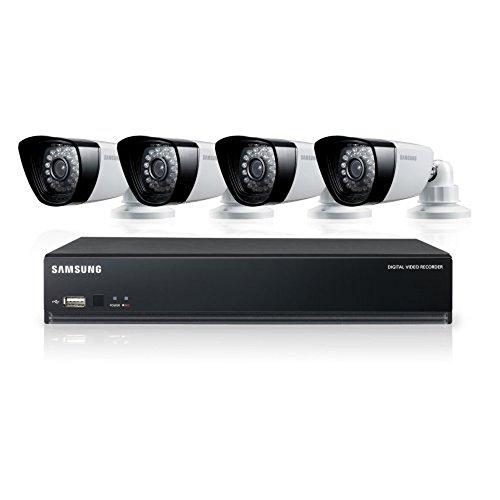 Samsung SDS-P3040 4 Channel DVR Security System