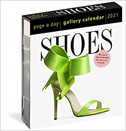 Book's Cover of 2021 Shoes Page-A-Day Gallery Calendar (Inglés) Calendario – Calendario de día a día, 5 agosto 2020