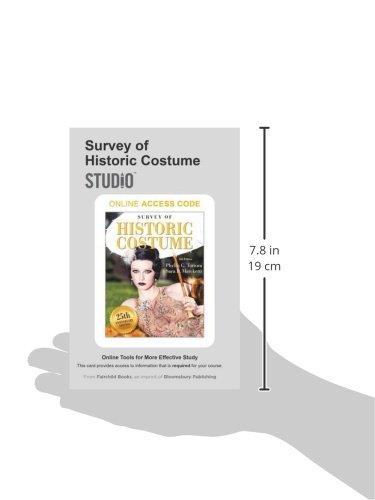 Survey of Historic Costume: Studio Access Card: Phyllis G. Tortora ...