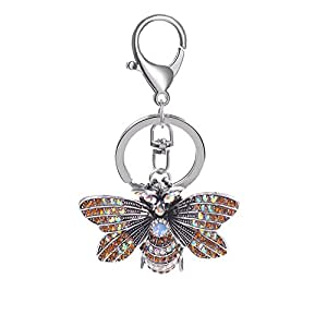 Amazon.com: Brave669 - Llavero con colgante de insectos de ...