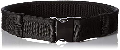 (Uncle Mike's Sentinel Duty Web Belt (Large, Black) (Renewed))