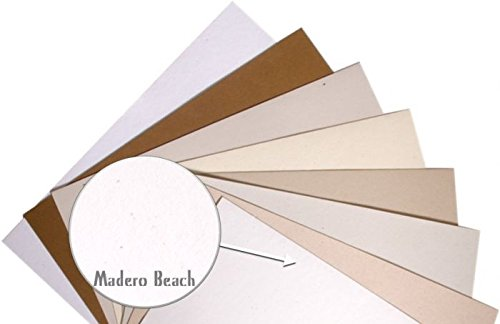 Madero Beach Speckle Fiber 8-1/2-x-11 Lightweight Printer friendly Paper 500-pk - 104 GSM (28/70lb Text) PaperPapers Letter size Everyday Paper - Professionals, Designers, Crafters and DIY Projects