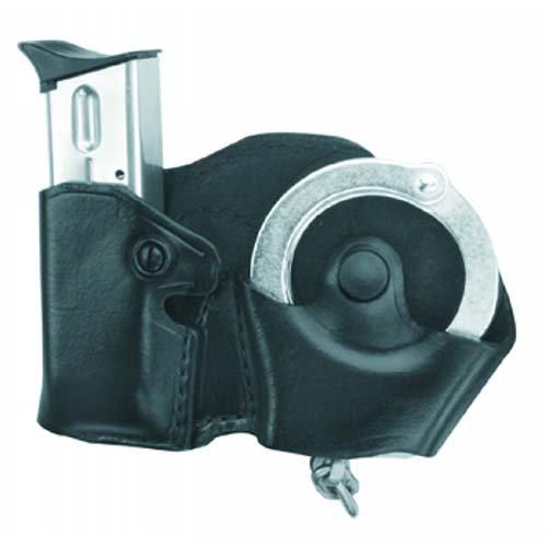Gould & Goodrich B871-3 Handcuff & Magazine Case Combo, Black